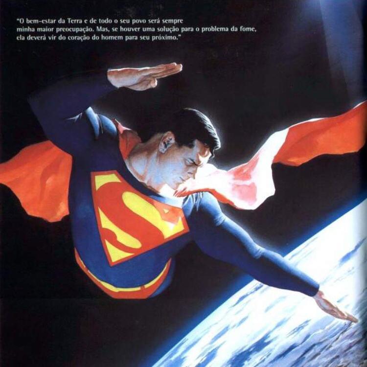 E se o Superman parasse de trocar porrada com umahellip