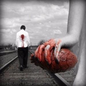 Você está vagando sem coração: