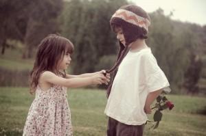 casal crianca