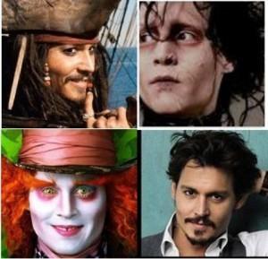 Você acha o Johnny Depp versátil? Dá uma olhada no meu amigo Fred então...