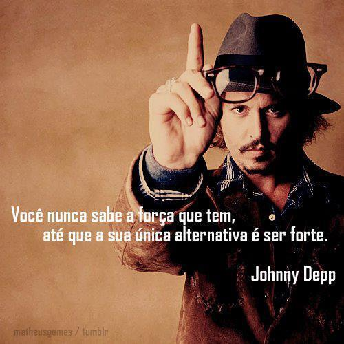 Frase de Johnny Depp