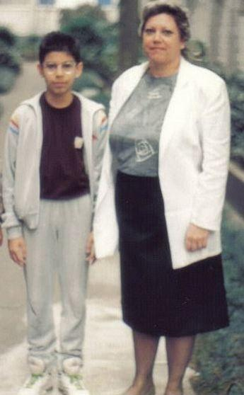 Eu e minha mãe