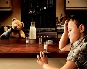 Vida difícil, né? Bebe leite.