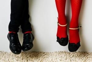 hanging legs