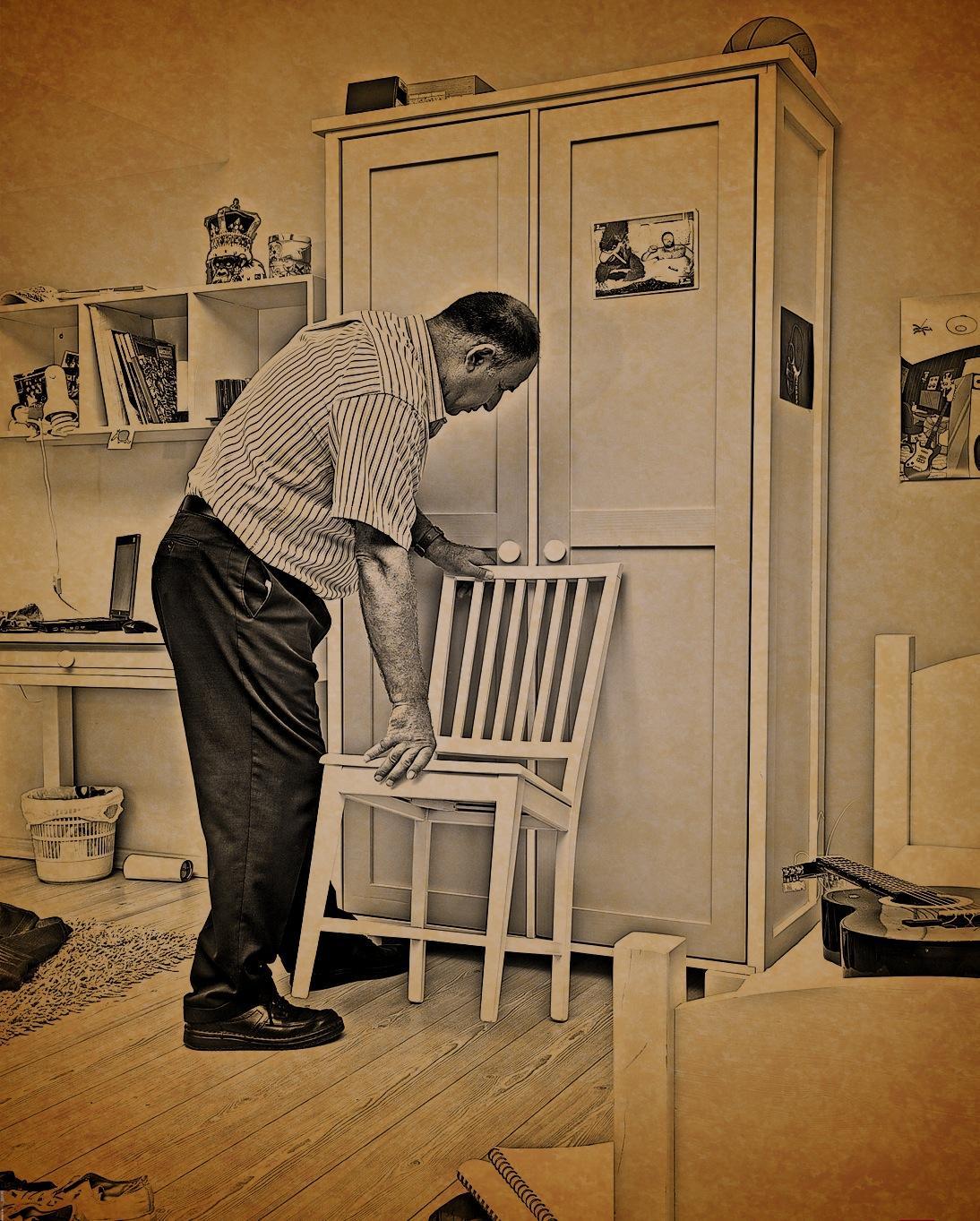 Saia do armário