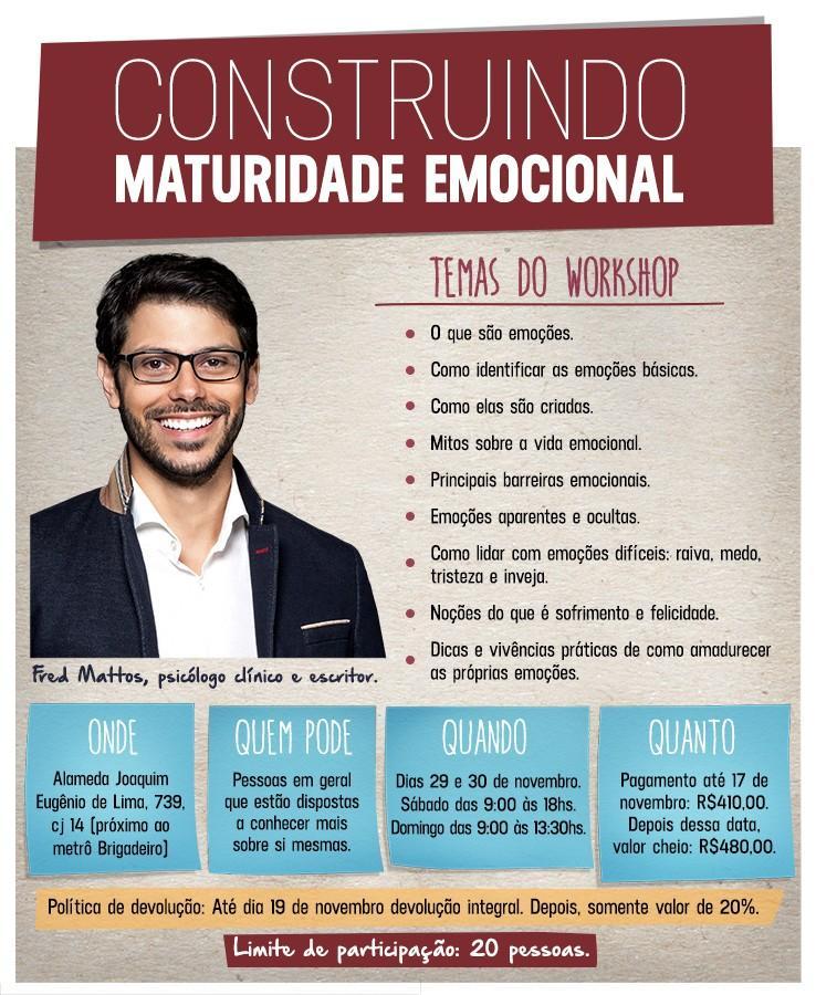 construindo maturidade emocional