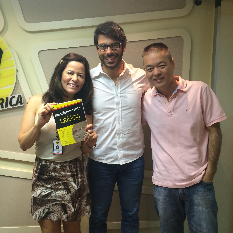 Participação na rádio Transamérica